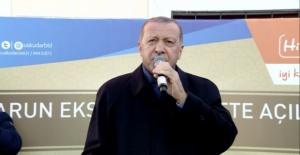 """Cumhurbaşkanı Erdoğan: """"Zorla kentsel dönüşüm adımımız yok"""""""